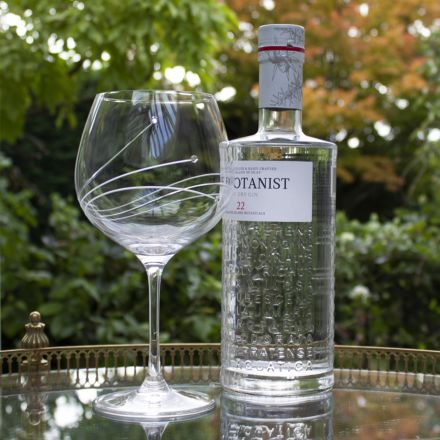 Diamante (Swarovski) - Single Gin and Tonic (G&T) Copa Glass (Gift Boxed)