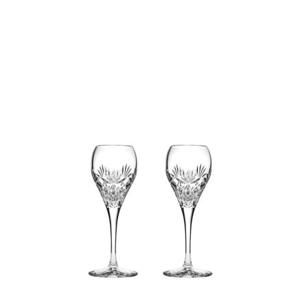 Kintyre 2 Crystal Port / Sherry Glasses  - 165mm (Gift Boxed)   Royal Scot Crystal