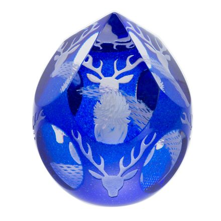 Spirit of the Glens Glass Paperweight 115mm (SCOTTISH) LIMITED EDITION OF 150  | James Pirie