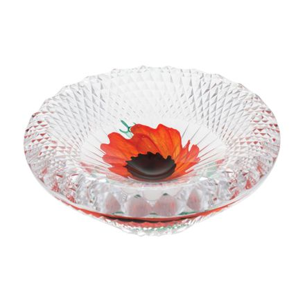 A Nation's Thank You Glass Dish 155mm (Remembrance) Limited Edition of 25 | James Pirie