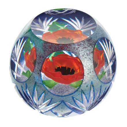 Precious Memory Glass Paperweight 95mm (Remembrance) Limited Edition of 150 | James Pirie - New!