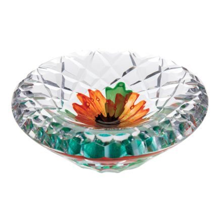 With Honour Glass Dish 155mm (Remembrance) Limited Edition of 50 | James Pirie - New!