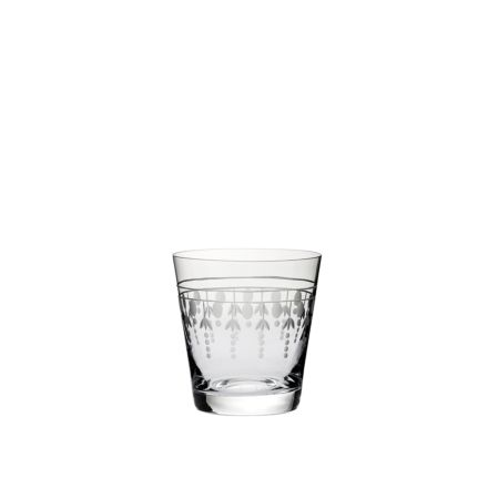 Nouveau - Large Tumbler, 95mm (Gift Boxed)   Royal Scot Crystal - New!