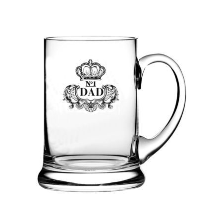 Real Ale Beer Tankard Engraved NO.1 DAD  (Gift Boxed) - perfect for Father's day
