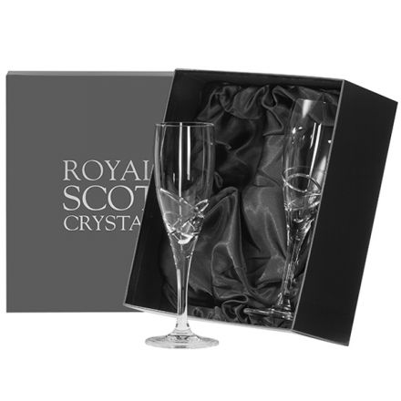 Skye - Box of 2 Champagne Flutes (Presentation Boxed)