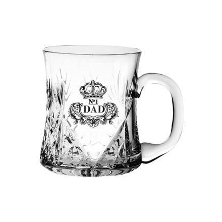 Kintyre Tankard Engraved NO.1 DAD (Gift Boxed) - perfect for Father's day