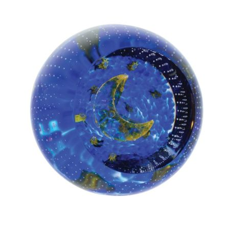 To the Moon and Back Glass Paperweight, 60mm (Love) | James Pirie
