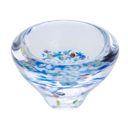 Lace - Forget me Not Glass Dish, 100mm - | James Pirie