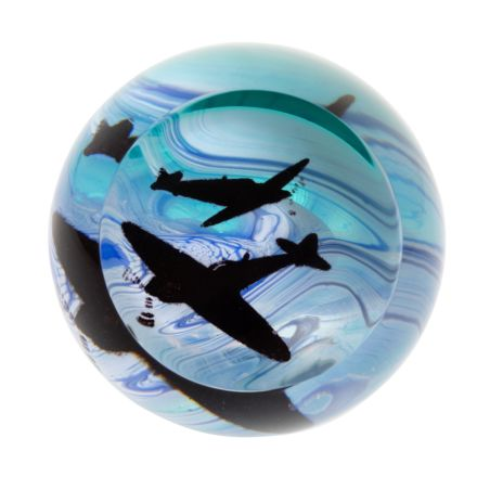 Battle of Britain - Glass Paperweight - 80mm | James Pirie - New!