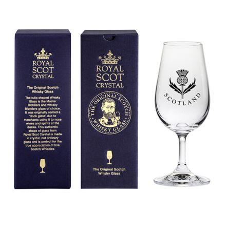 The Original Scotch Whisky Glass - Thistle (stemmed) (gift boxed)
